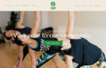 5D Yoga website by Bounty